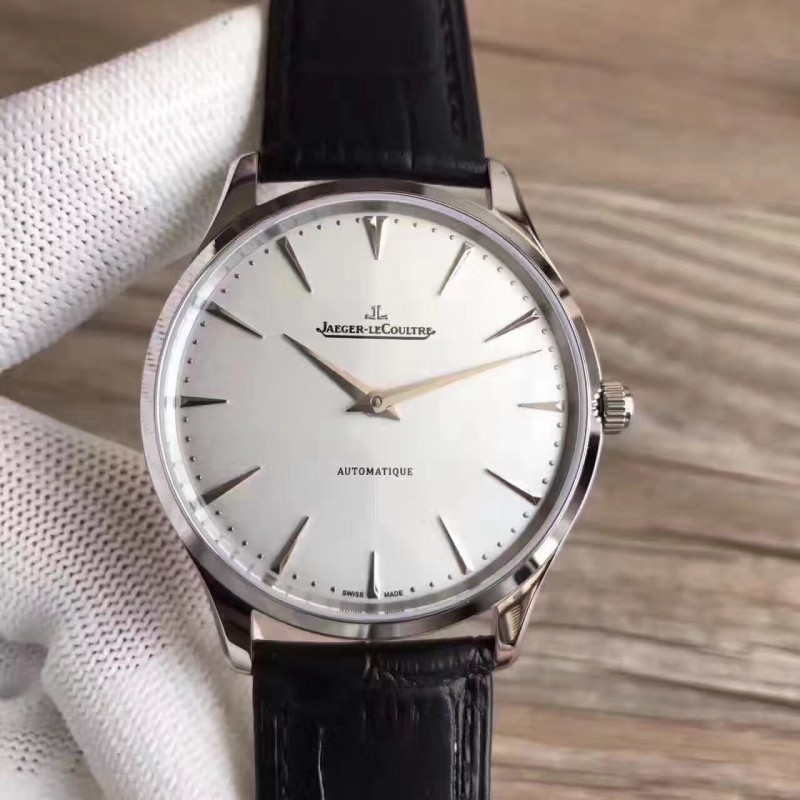 Replica Jaeger-LeCoultre Master Ultra Thin 41 1338421 N Stainless Steel Silver Dial M9015 82525
