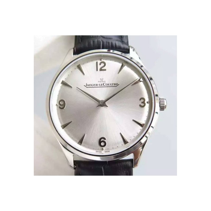 Replica Jaeger-LeCoultre Master Control 1833 Ultra Thin Q1348120 N Stainless Steel Silver Dial Swiss Calibre 849 82517
