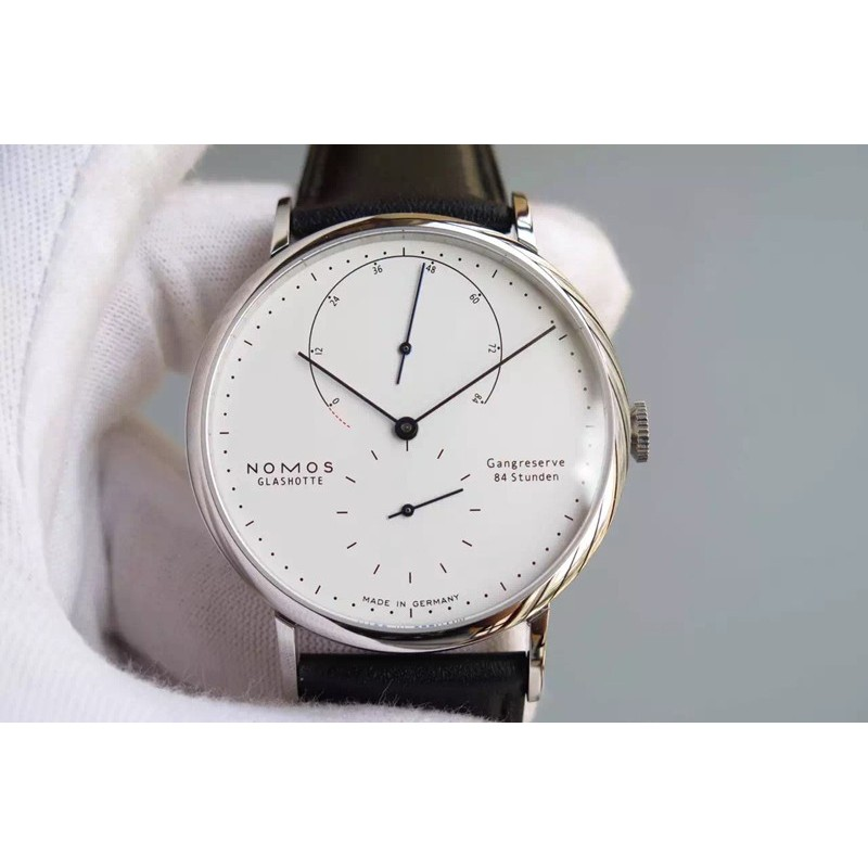 Replica Nomos Lambda Stainless Steel White Dial German DUW 1001 82446